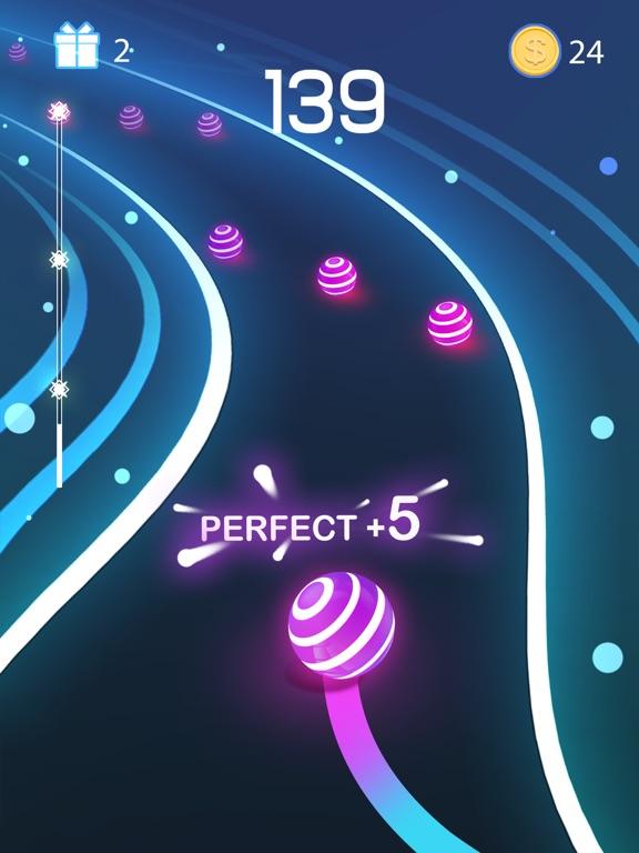 Dancing Road: Color Ball Run! screenshot 9