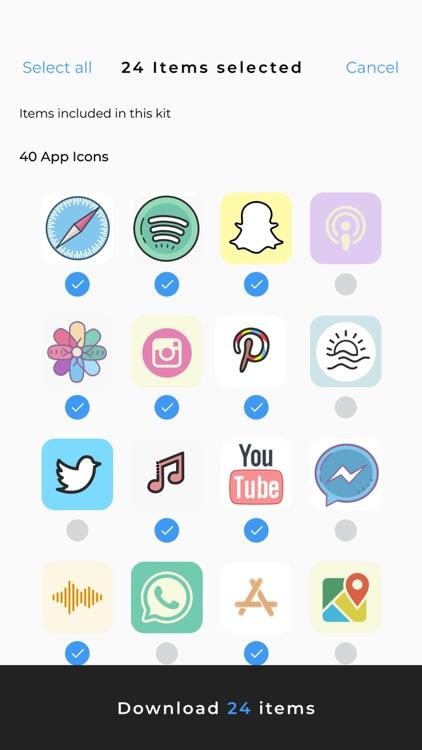 ScreenKit- App Icons & Widgets screenshot-6