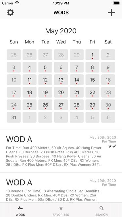 WOD Workout Timer and Log screenshot-5