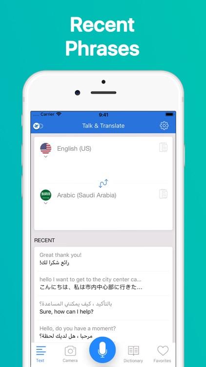 Talk & Translate Translator screenshot-7