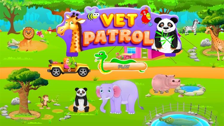Vet Patrol - Veterinary Games