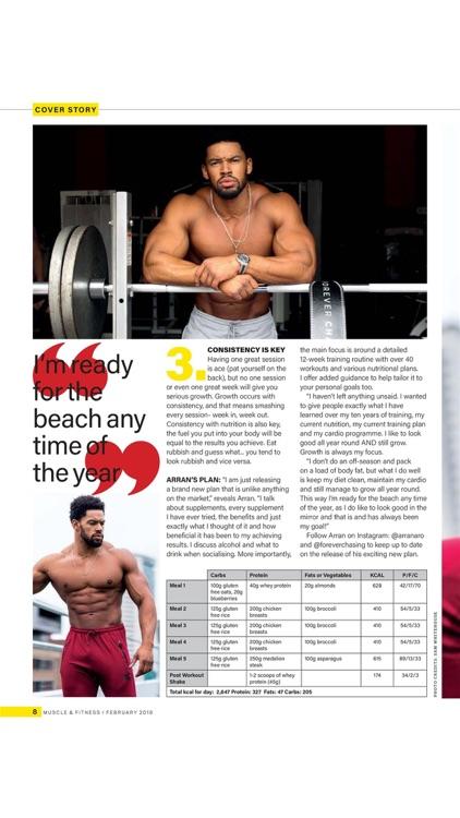 Muscle & Fitness UK Magazine screenshot-3