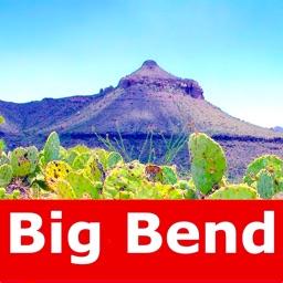 Big Bend National Park Map
