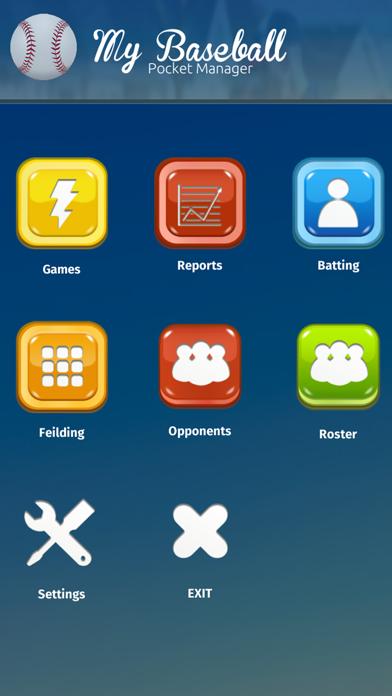 MyBaseball Stats Manager app image