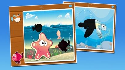 Fish puzzle - fun for kids screenshot one