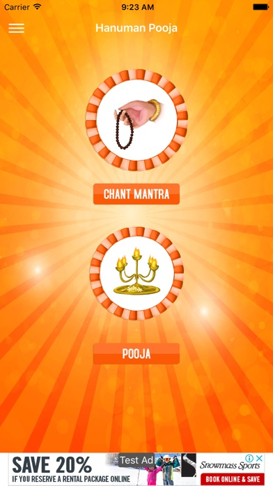 Hanuman Pooja and Mantra - App - Mobile Apps - TUFNC