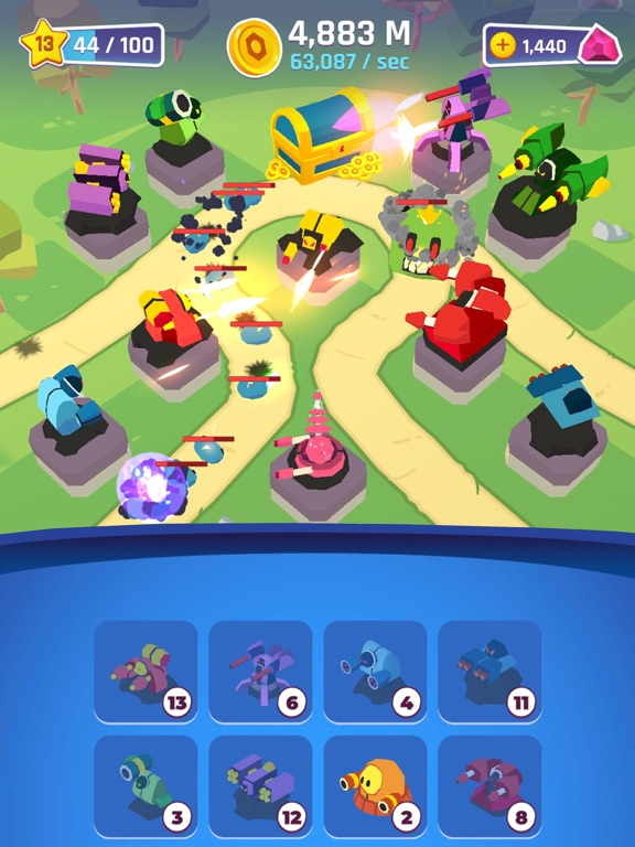 Merge Tower Bots screenshot 12