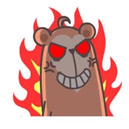 憤怒的長臉猴
