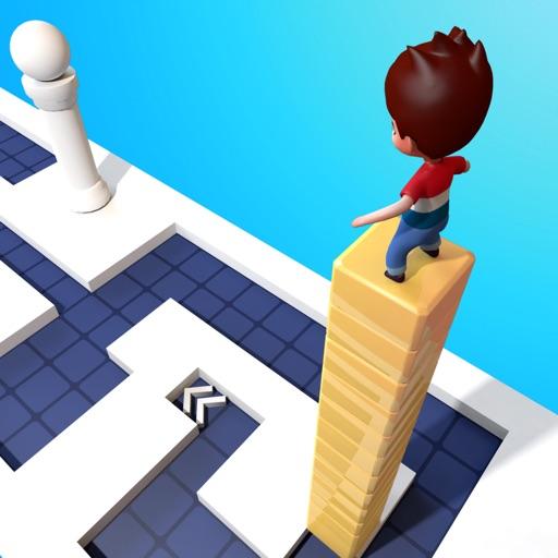 Make Stack: Slide Cube On Path