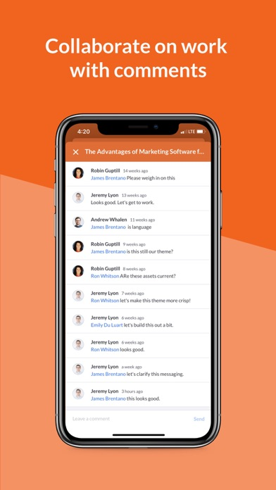 messages.download Percolate software
