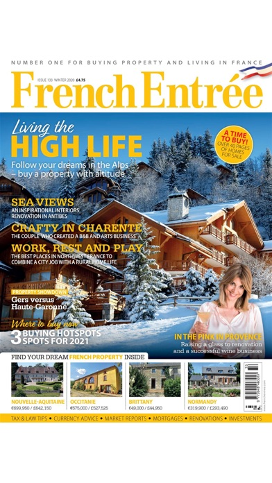 FrenchEntrée MagazineScreenshot of 1