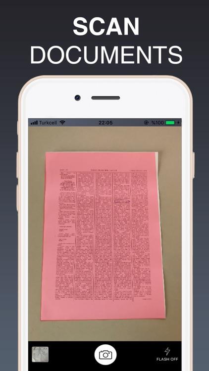 PDF Scanner & File Converter