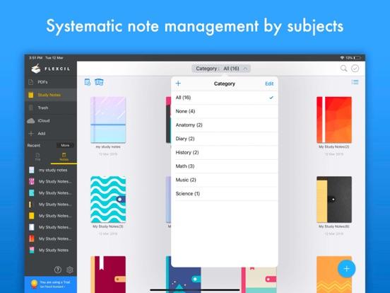 Flexcil - PDF編集、手書きメモ、勉強ノートのおすすめ画像7