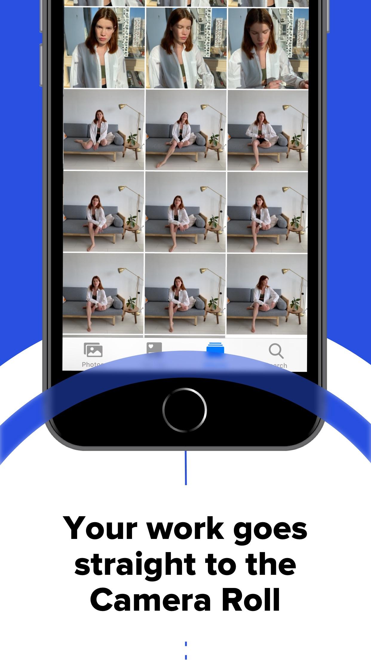 Screenshot do app CLOS - Remote Shooting