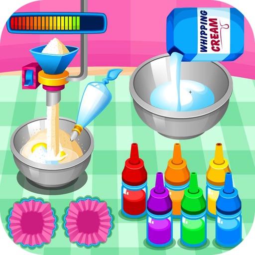 Цветные кексы & игра в торт