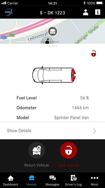 Mercedes PRO connect app screenshot-4