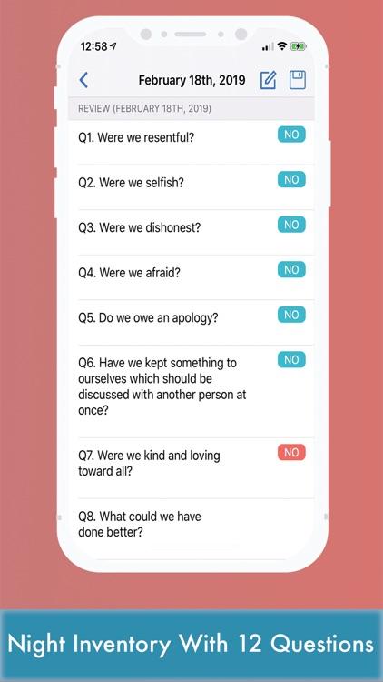 AA 12 Step Toolkit RecoveryBox screenshot-8
