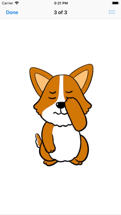 Royal Corgis Emoji Stickers screenshot-4