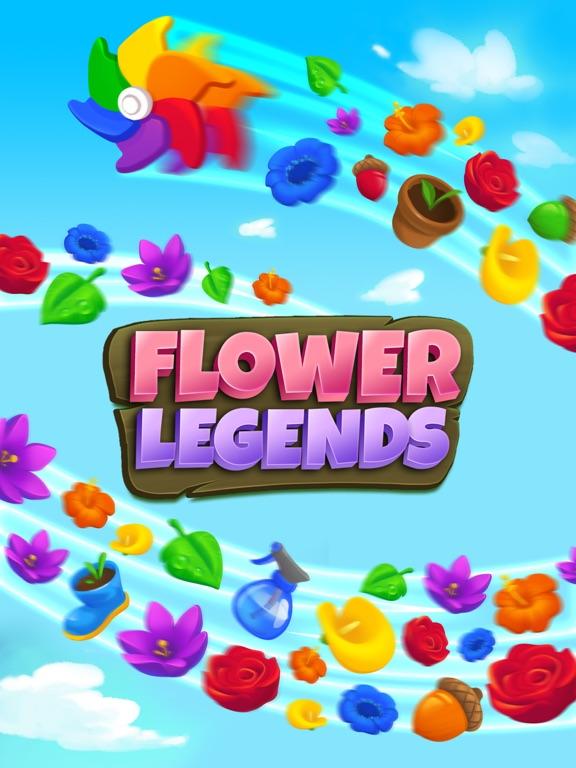 Flower Legends Match 3 screenshot 10