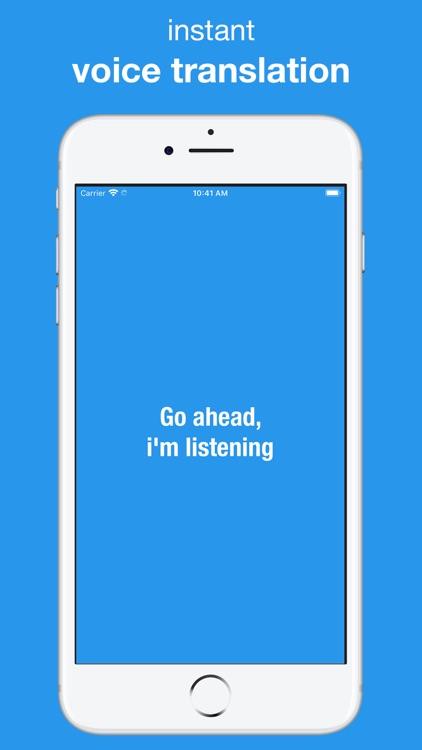 Translation App. screenshot-3