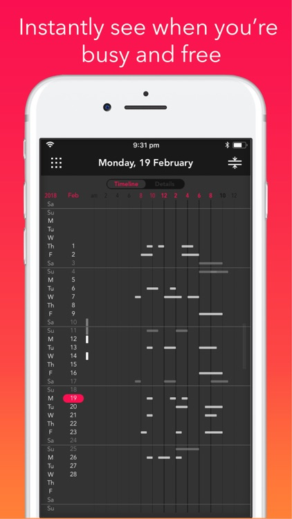Rooster: Daily Planner, Agenda screenshot-5