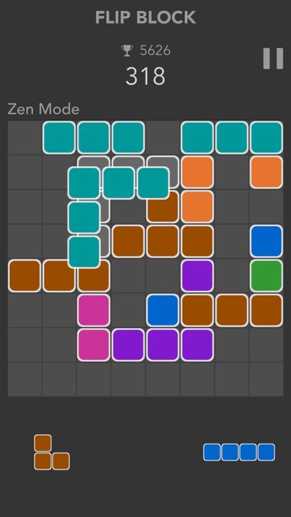 Flip Block - Square Cube Blast screenshot-3