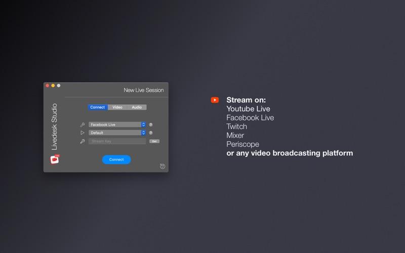 Livedesk Studio Screenshot