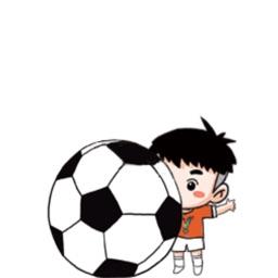 足球宝贝stickers