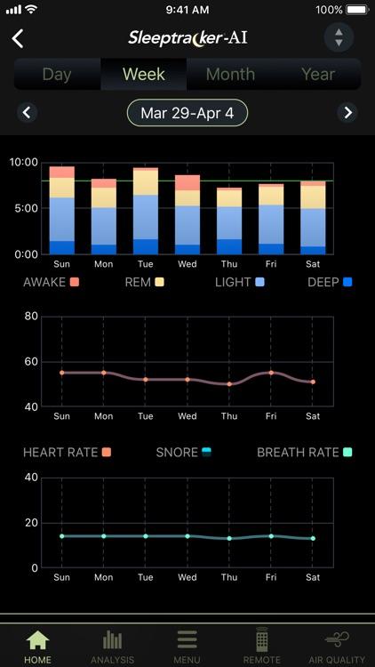 Tempur-Pedic® Sleeptracker®-AI screenshot-4