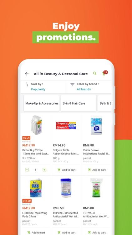 HappyFresh - Grocery Delivery screenshot-6