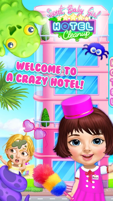 Sweet Baby Girl Hotel Cleanup screenshot 1