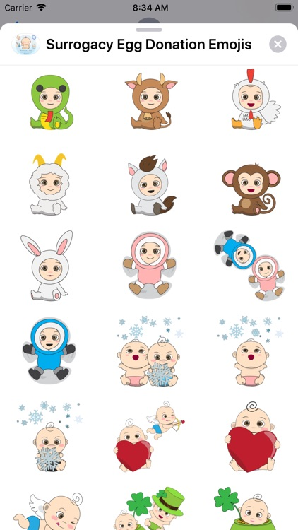 Surrogacy Stickers