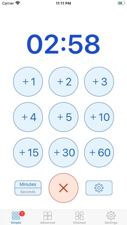 1Timer - Voice Timer screenshot-0