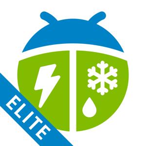 WeatherBug Elite app