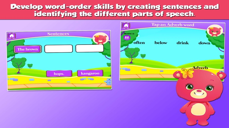 Bears 3rd Grade Learning Games screenshot-3