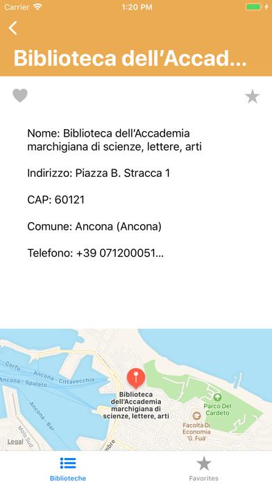 Biblioteche Screenshots