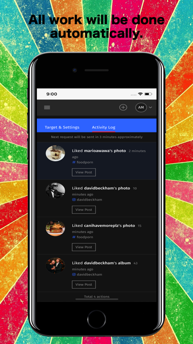Screenshot for IO : Likes, Followers, Reposts in Finland App Store