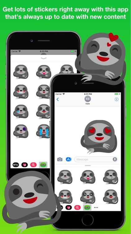 Sloth Stickers Pro