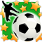 App Icon for New Star Soccer App in United States IOS App Store