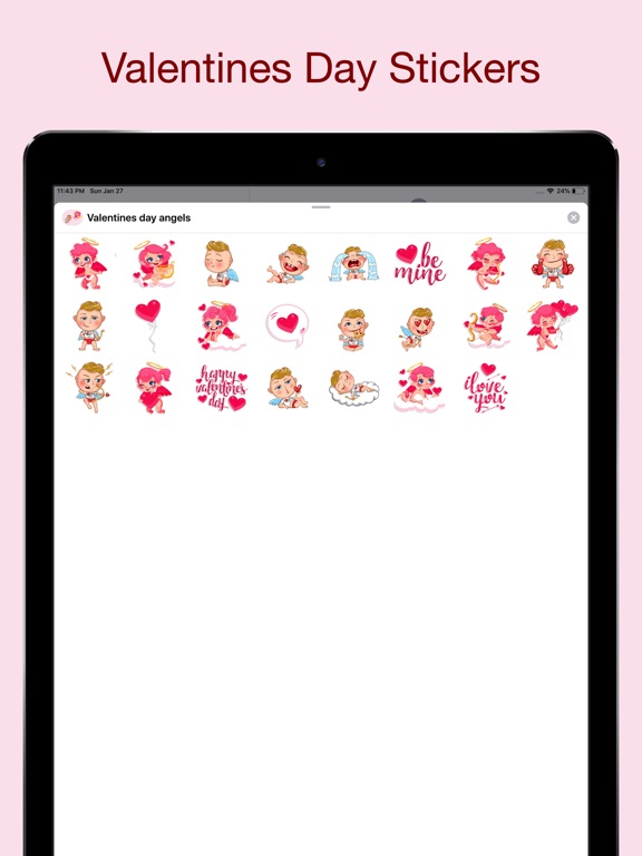 Valentine's day - Love sticker screenshot 6