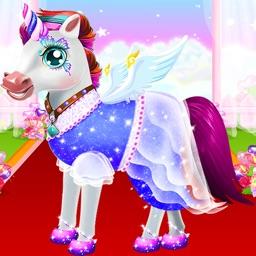 Unicorn Princess Makeup-Caring