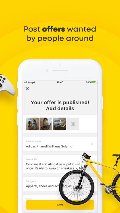 Swop.it – Local Swap Deals screenshot-3