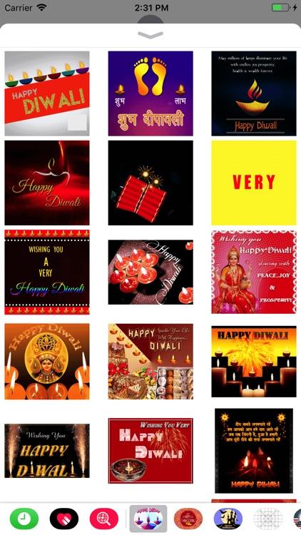 New Year & Diwali GIF Stickers screenshot-3