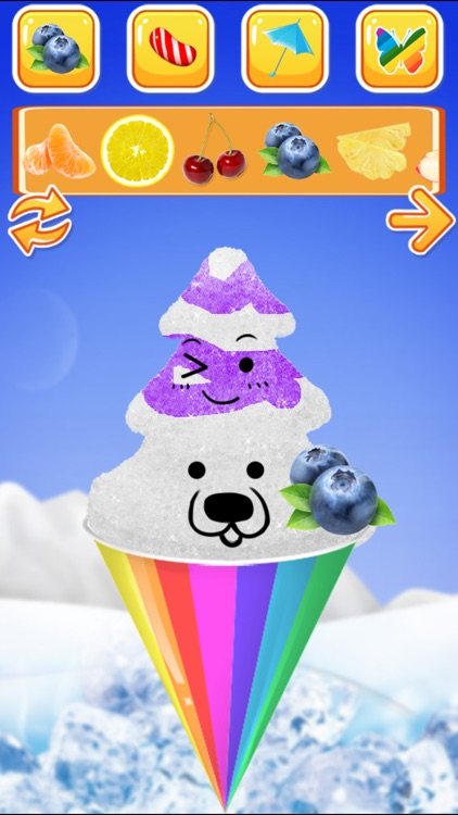 Snow Cone Maker -- Frozen Food screenshot-6
