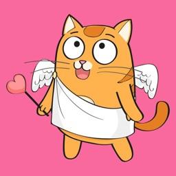 Cute Cartoon Cat Stickers