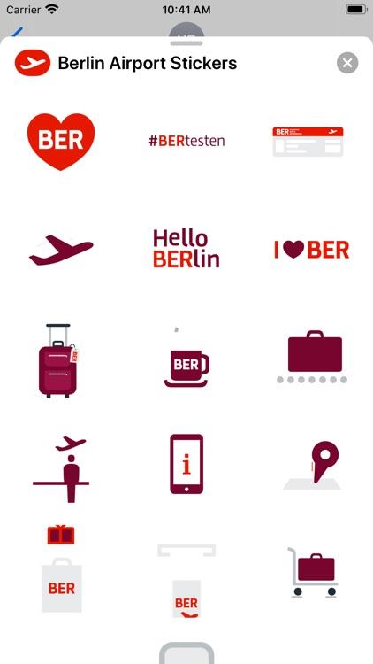 Berlin Airport Stickers
