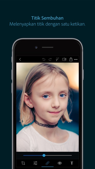 Screenshot for Photoshop Express-Editor Foto in Malaysia App Store