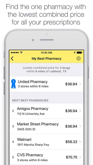 5921c4b91bb2 ... GoodRx Save On Prescriptions screenshot ...