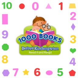 1000 Books Numbers Shapes