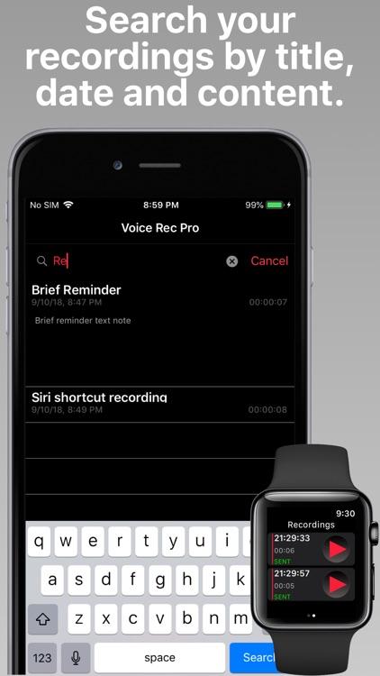 Voice Rec Pro